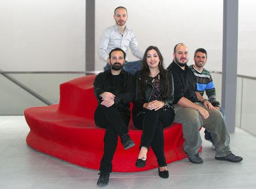 il Team CPZ Hispania nel 2015