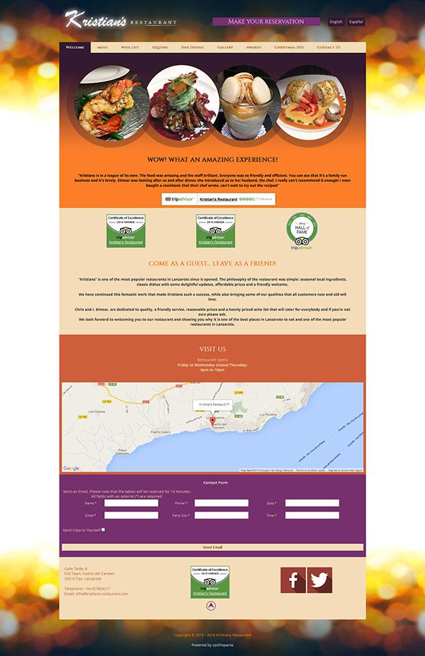 kristians-restaurant.com